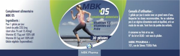 Os vitamine D3 K2 minéralisation