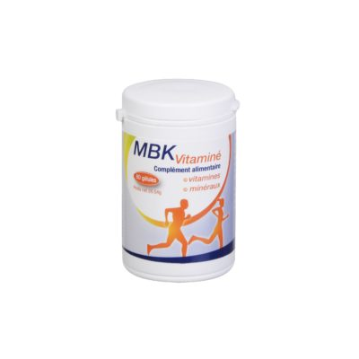 MBK Vitaminé Vitamines minéraux fatigue tonus vitalité
